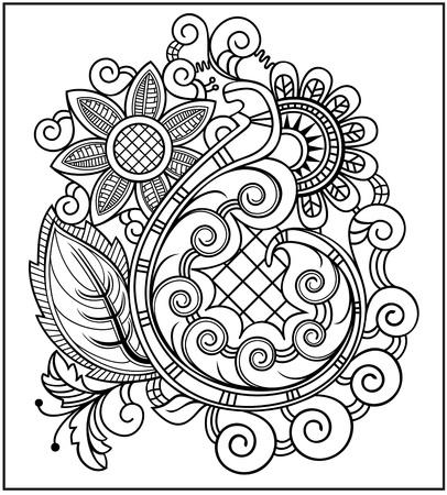 Sketchy vector hand drawn Doodle Illustration