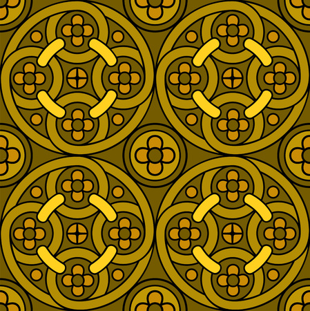 Brown pattern Illustration