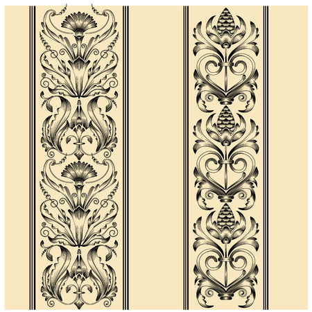 artnouveau: Set of vintage patterns