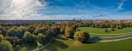 Awesome Autumn colors at the Englischer Garten.