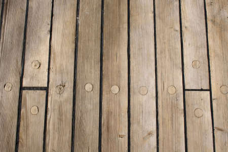 wooden ship deck as background