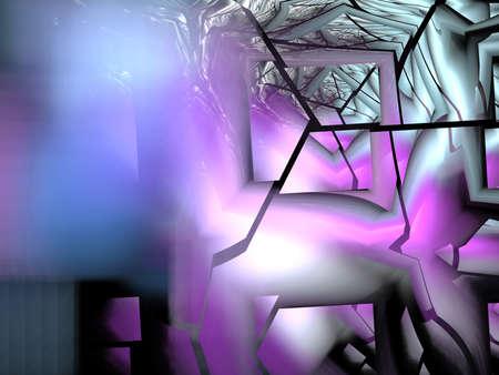 crashed: crashed Wonderland - abstract fractal background