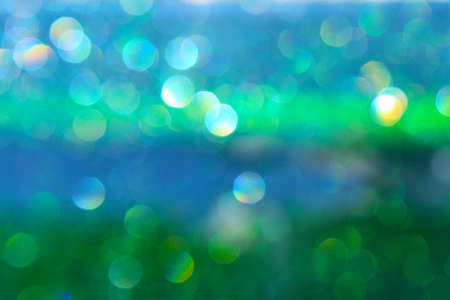 abstract attractive boker blue and green background Stock Photo