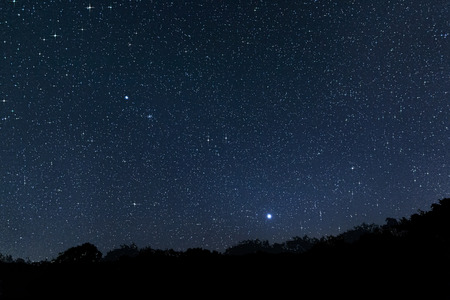 Beautiful Star Field  Jupiter Venus Constellations  Auriga Camelopardalis Lynx Gemini Canis Minor Monoceros Leo Leo minor Cancer Perseus