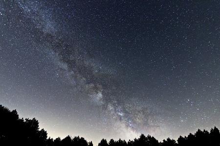 Milky Way galaxy Stockfoto