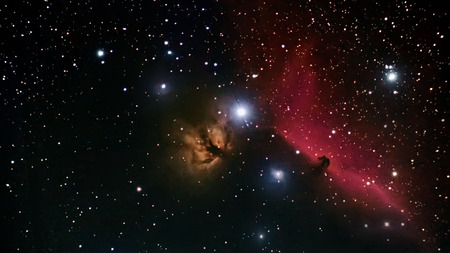 Horsehead Nebula deep space