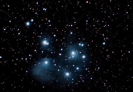 pleiades: Pleiades Famous Seven Sisters Maia Electra Taygete Alcyone Celaeno Sterope Merope