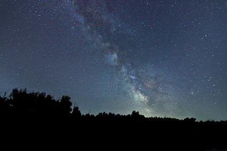 milky way galaxy: Milky Way galaxy Stock Photo
