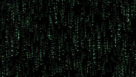 hi resolution: Green stars Decoration background, hi resolution stars on black background. Decoration background