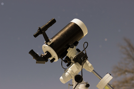 Telescope in night sky Winter edition Maksutov Cassegrain Telescope