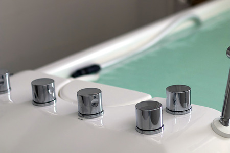 Therapy tub. Galvanic bath tub. Electrotherapy.