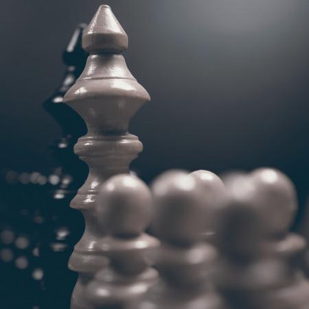 autoridad: Diálogo político. Peligro ajedrez juego. Conflicto de intereses.