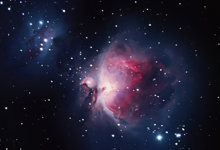 messier: Great Nebula in Orion, Messier 42 Stock Photo
