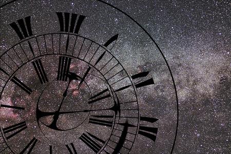 Time Warp. Tijd en ruimte, algemene relativiteit. Stockfoto - 74371856