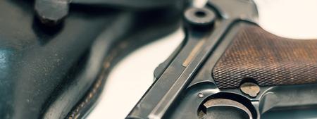 Luger P08 Parabellum handgun.