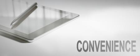 CONVENIENCE Business Concept Digital Technology. Graphic Concept. Stock Photo