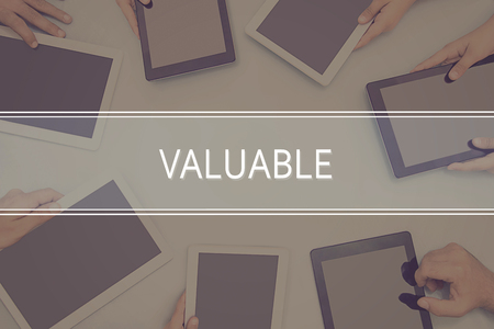 VALUABLE CONCEPT Business Concept.