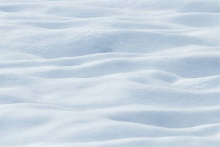 Deep snow drifts Winter background