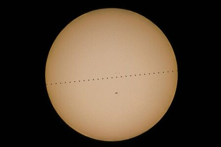 Transits of Mercury, Mercury Transit in Front of the Sun