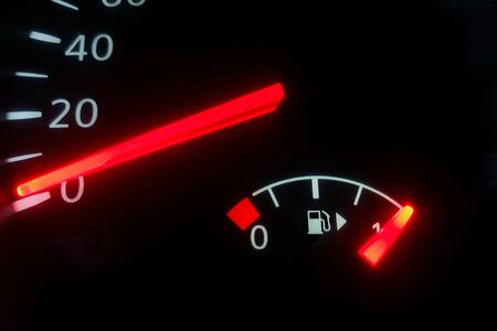 Fuel Gauge, Full Tank, Car Fuel Display