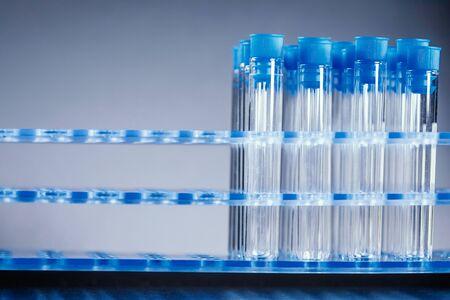Laboratory Test Tubes, Health care concept
