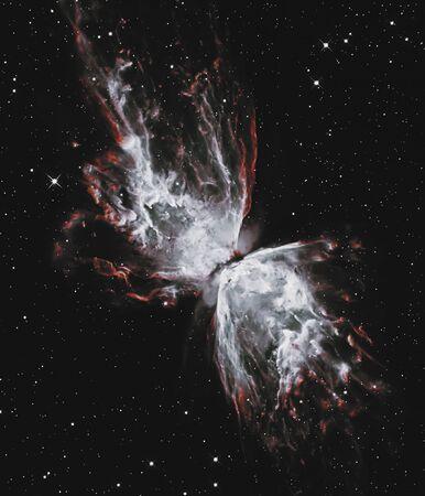 The Butterfly Nebula. . Retouched .