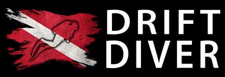 Drift Diver, Diver Down Flag, Scuba flag, Scuba Diving