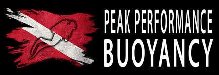 Peak Performance Buoyancy, Diver Down Flag, Scuba flag, Scuba Diving