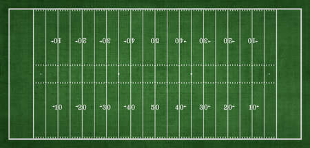 Top view of American Football field, Sport Background