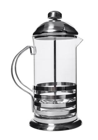 new tea pot on white isolated background