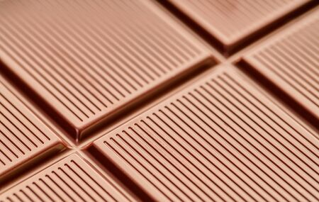 food background made of chocolate bar texture closeup