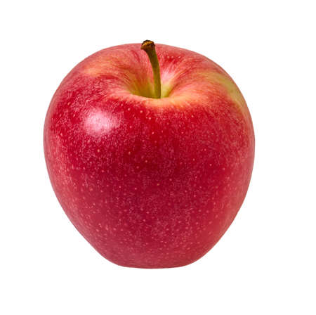 red apples on a white isolated background with clipping patch