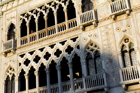 Venice, Italy - November 25, 2011: Palazzo Santa Sofia (Ca d Oro) Stock Photo - 11653193