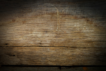 grunge wood: Old dark wood wallpaper Stock Photo