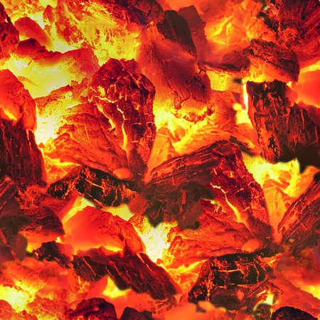 coals: Embers Seamless Texture Tile