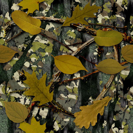 Natural Camouflage Seamless Texture Tile photo