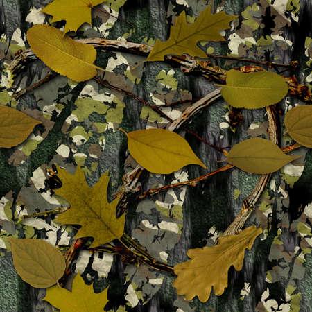Naturel de texture de camouflage sans soudure Banque d'images - 12826589