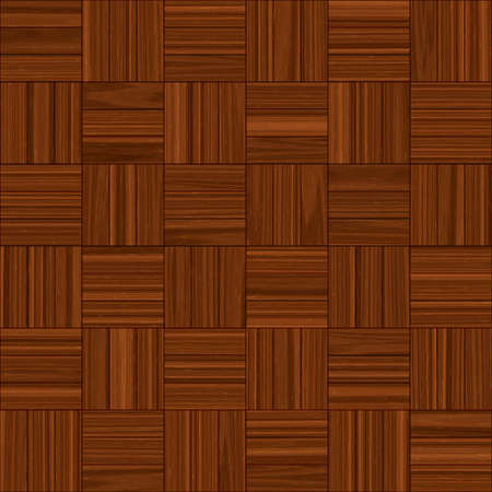 Parquet Wood Flooring Seamless Texture Tile Stock Photo Picture And