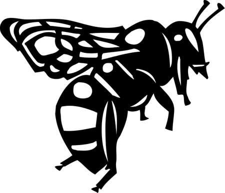 bee swarm: Bee