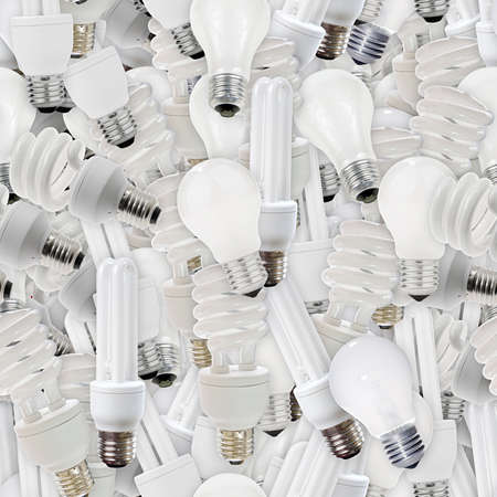 Light Bulbs Seamless Texture Tile photo