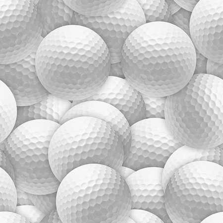 Golf Balls Seamless Texture Tile