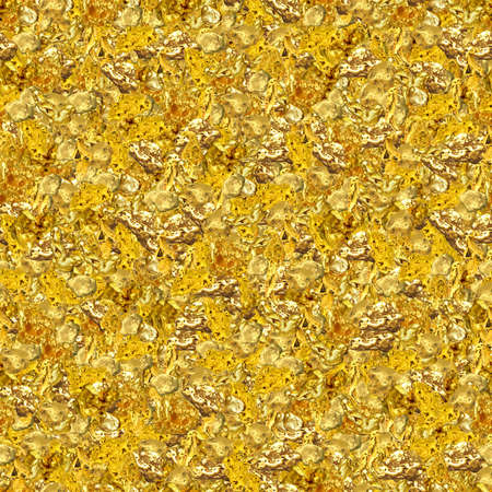 textured: Gold Nuggets Seamless Texture Tile