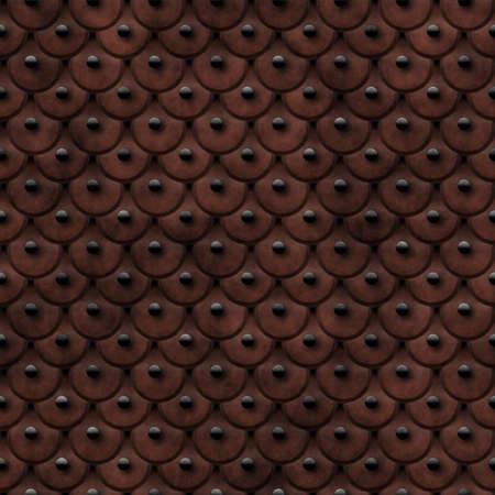 Studded Leather Seamless Texture Tile photo