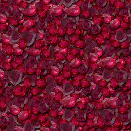 seamless: Rubies Seamless Texture Tile