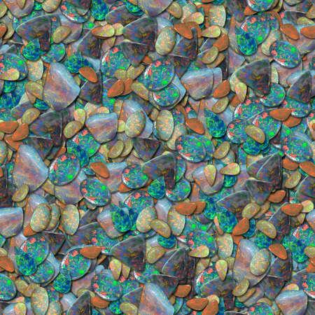 Opal Seamless Texture Tile