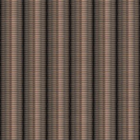 Coins Stacked Seamless Texture Tile photo