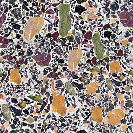 Terrazzo Seamless Texture Tile photo