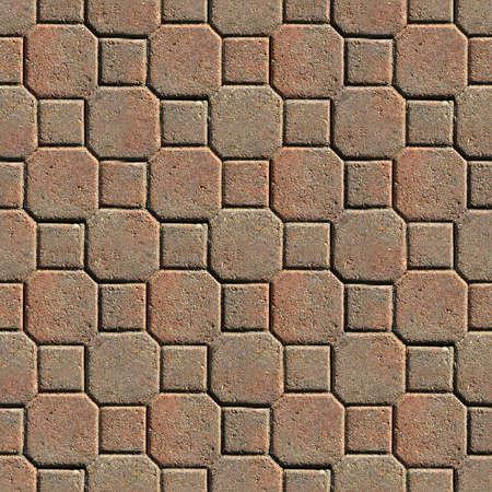 Pavers Seamless Texture Tile Banque d'images