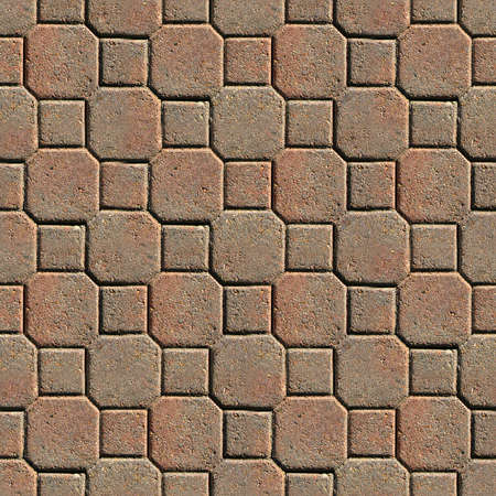 textured: Pavers Seamless Texture Tile Stock Photo
