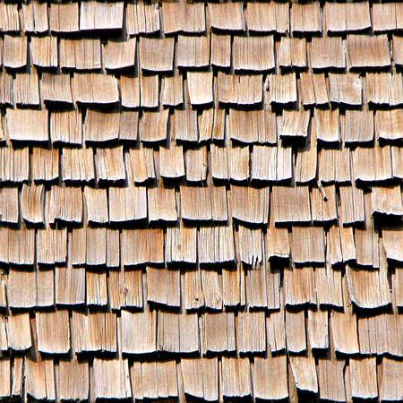cedar shakes: Cedar Shake tejas de madera textura perfecta Foto de archivo